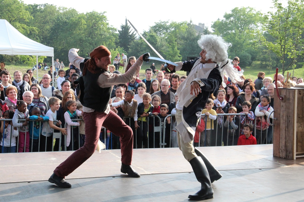 Pirates cascadeurs Stunt Show Events