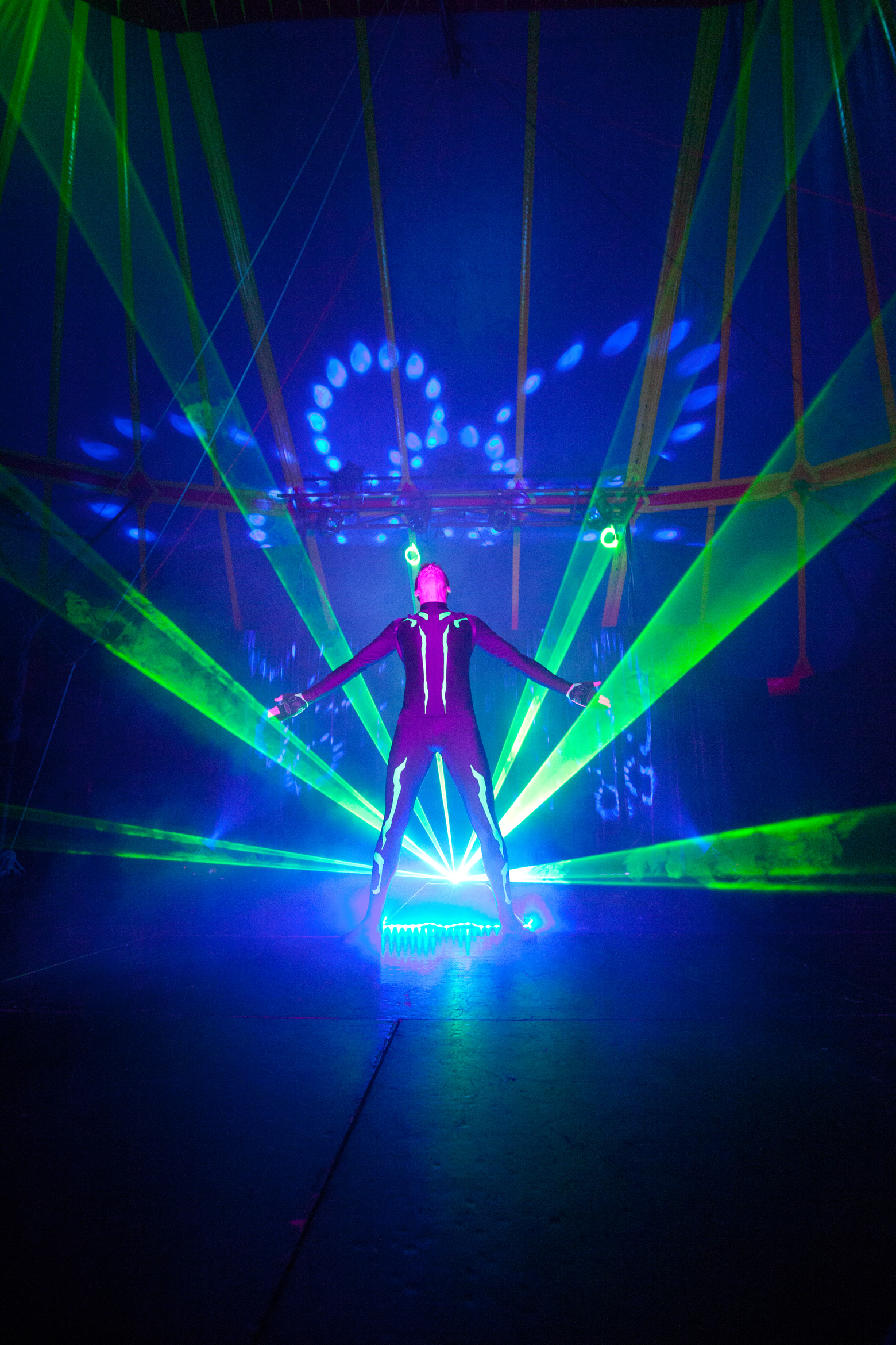Laser Stunt Show Events